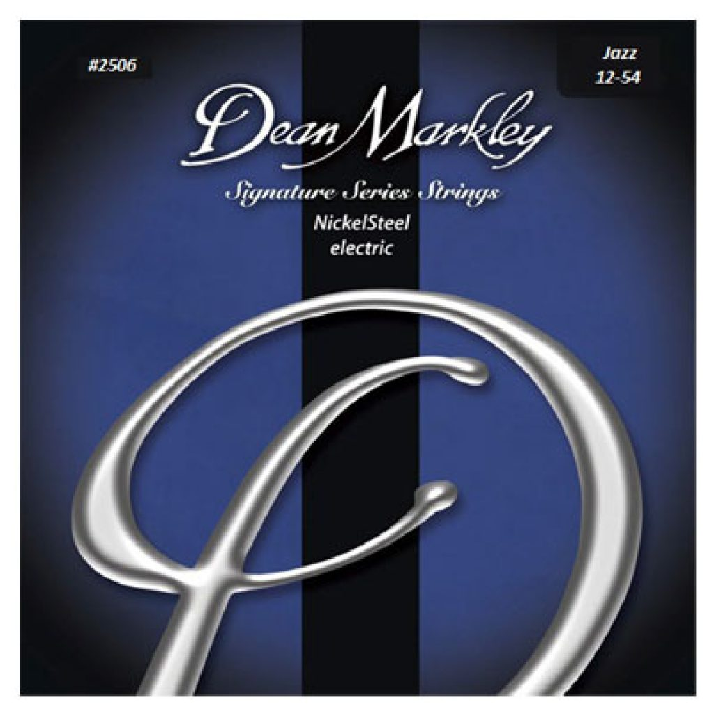Dean Markley 2506 Nickel Steel Electric Jazz 12-54