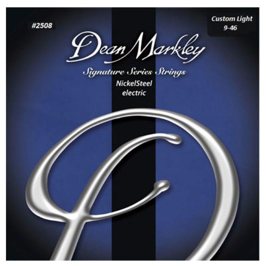 Dean Markley 2508 Nickel Steel Electric Custom Light 9-46