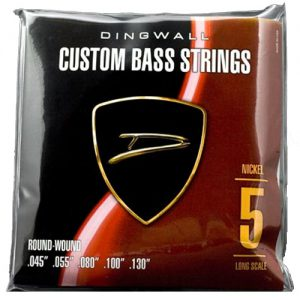 Dingwall Nickel Plated Steel Bass Long-Scale 45-130
