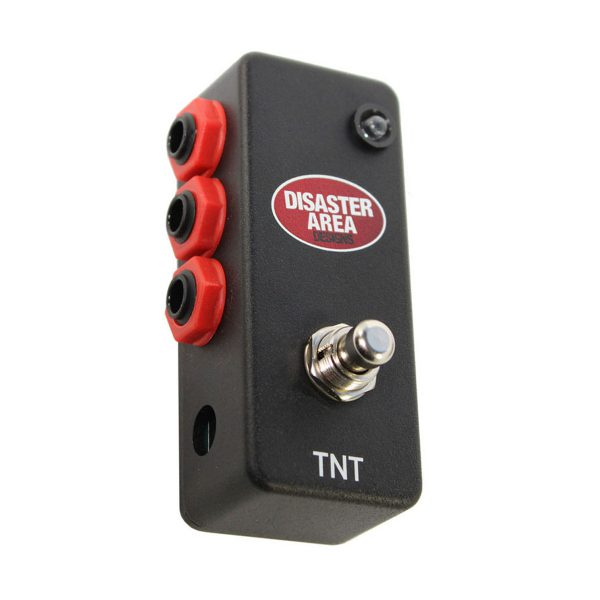 Disaster Area TNT Triple Output Tap and Favorite Footswitch