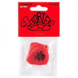 Dunlop 418 Tortex Standard 0.50 12 Pack