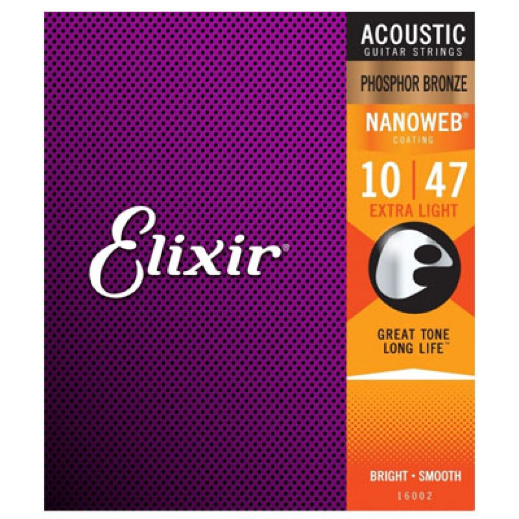 Elixir 16002 Acoustic Phosphor Bronze Extra Light 10-47