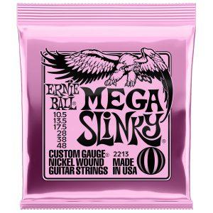 Ernie Ball 2213 Nickel Wound Electric Mega Slinky 10.5-48