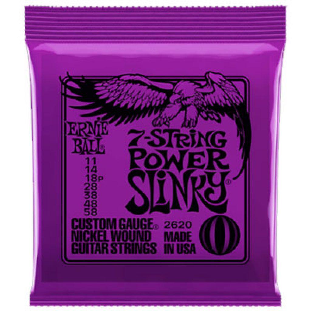 Ernie Ball 2620 Power Slinky 11-58 (7-string)