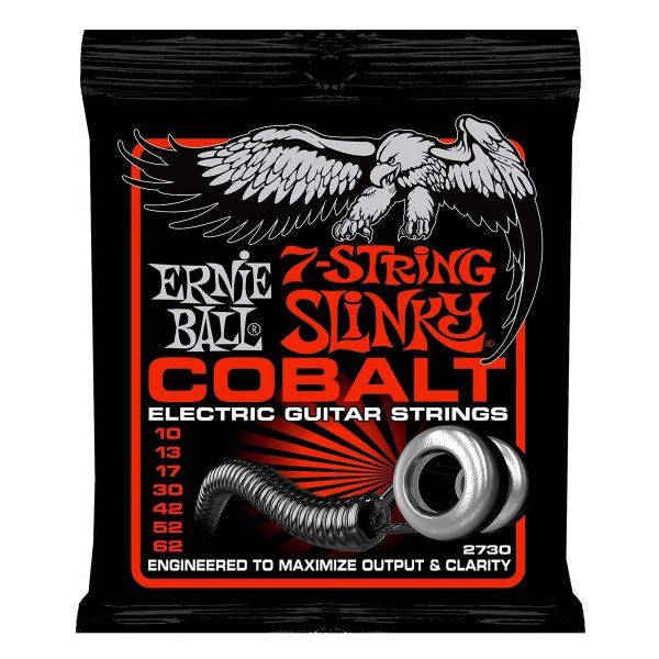Ernie Ball 2730 Cobalt Skinny Top Heavy Bottom 10-62 (7-string)