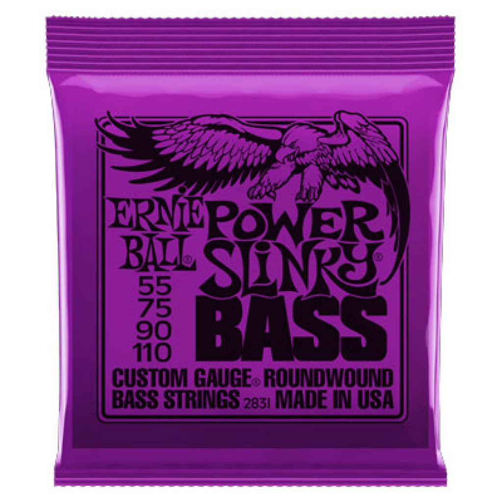Ernie Ball 2831 Nickel Wound Bass Power Slinky 55-110