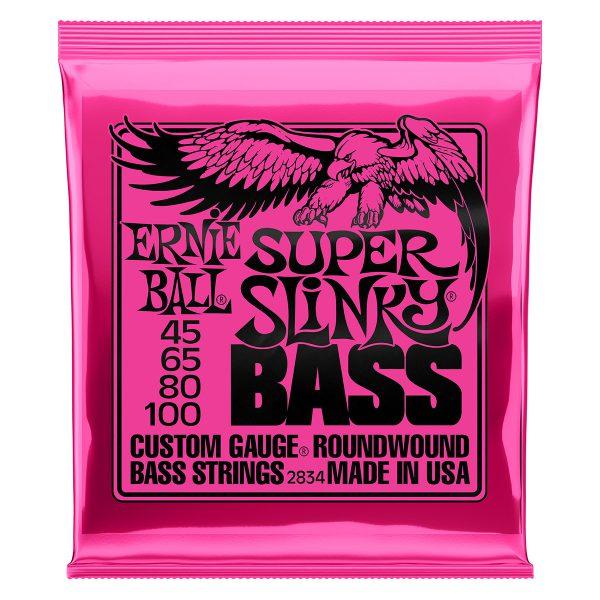Ernie Ball 2834 Nickel Wound Bass Super Slinky 45-100