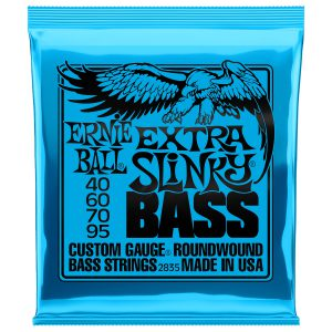 Ernie Ball 2835 Nickel Wound Bass Extra Slinky 40-95