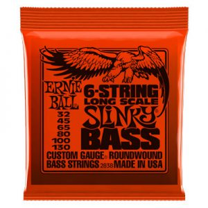 Ernie Ball 2838 Nickel Wound Bass Long Scale Slinky 32-130