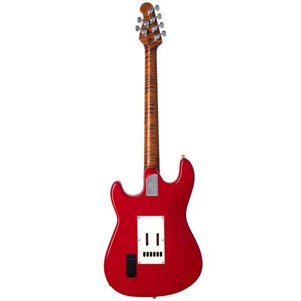 Ernie Ball Music Man Cutlass SSS Trem - JR Scarlet Red