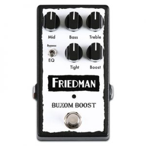 Friedman Amplification Buxom Boost Pedal