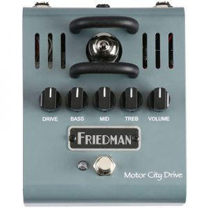 Friedman Amplification Motor City Drive Overdrive Pedal