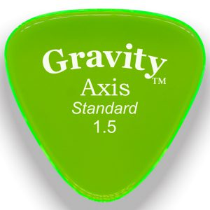 Gravity Picks GAXS15M Axis 1.5mm Standard Master Green