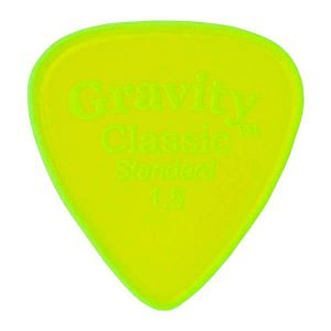 Gravity Picks GCLS15M Classic Standard 1.5mm Master Fl. Green