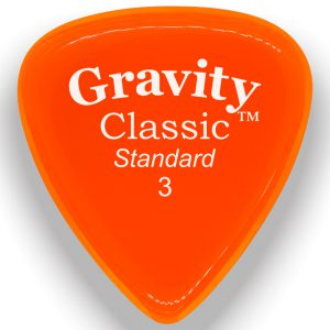 Gravity Picks GCLS3M Classic Standard 3.0mm Master Orange