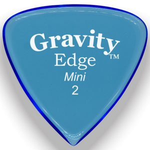 Gravity Picks GEEM2M Edge 2.0mm Mini (Jazz) Master Blue