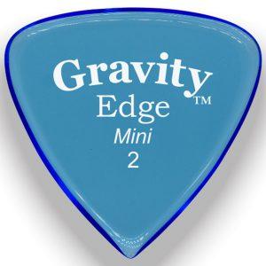 Gravity Picks GEEM2P Edge 2.0mm Mini (Jazz) Polished Blue