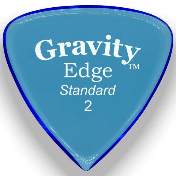 Gravity Picks GEES2M Edge 2.0mm Standard Master Blue