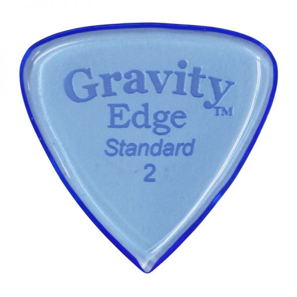 Gravity Picks GEES2P Edge Standard 2.0mm Polished Blue