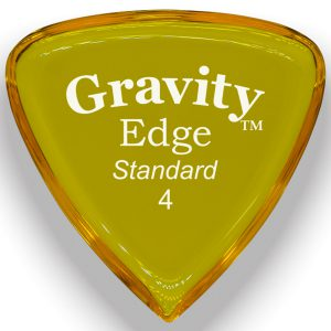Gravity Picks GEES4P Edge 4.0mm Standard Polished Yellow