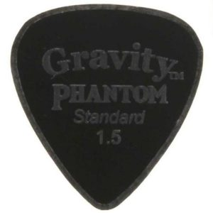 Gravity Picks GPHCLS15M Phantom Classic Standard 1.5mm Master Finish Black