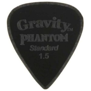 Gravity Picks GPHRAS15M Phantom Razer Standard 1.5mm Master Finish Black