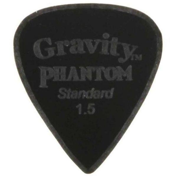 Gravity Picks GPHRAS15M Phantom Razer Standard 1.5mm Master Finish Black