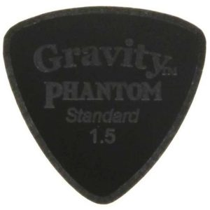 Gravity Picks GPHSRS15M Phantom Striker Standard 1.5mm Master Finish Black
