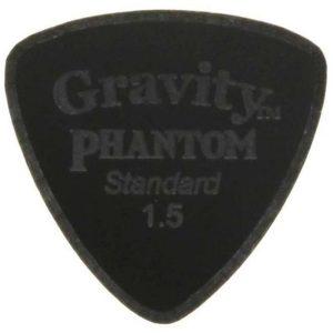 Gravity Picks GPHSRS15M Phantom Striker Standard 1.5mm Master Finish Black