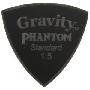 Gravity Picks GPHSSS15M Phantom Stealth Standard 1.5mm Master Finish Black