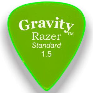 Gravity Picks GRAS15M Razer 1.5mm Standard Master Green