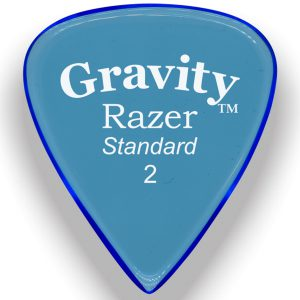 Gravity Picks GRAS2M Razer 2.0mm Standard Master Blue