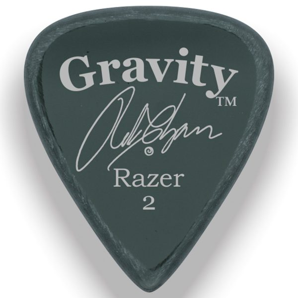 Gravity Picks GRCSP Razer Standard 2.0mm Master Finish Smoke