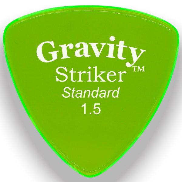 Gravity Picks GSRS15M Striker 1.5mm Standard Master Green