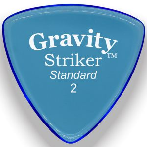 Gravity Picks GSRS2M Striker 2.0mm Standard Master Blue