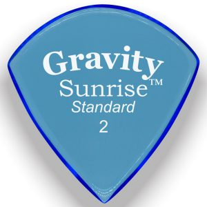 Gravity Picks GSUS2M Sunrise Standard 2.0mm Master Blue