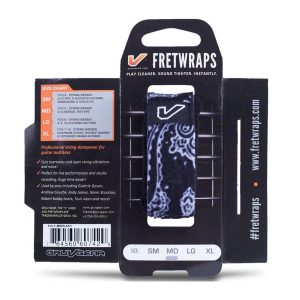 Gruv Gear FretWraps Bandana (Black, Medium)