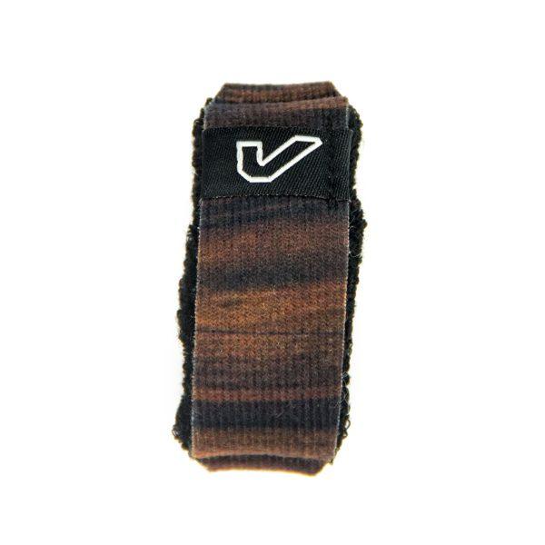Gruv Gear Fretwraps Wood Walnut String Muter 1-Pack (Large)