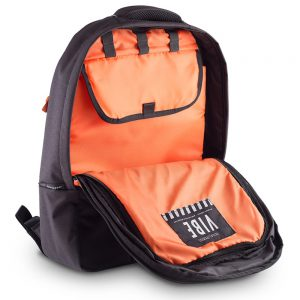 Gruv Gear VIBE Backpack (Black – Orange)