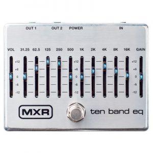 MXR M-108S Ten Band EQ Silver