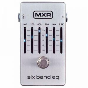 MXR M-109S Six Band EQ Silver