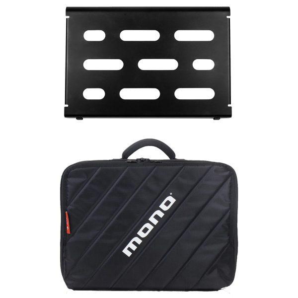 Mono Pedalboard Small Black + Club Accessory Case 2.0