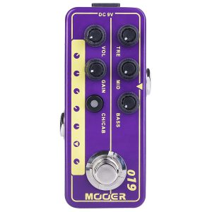 Mooer 019 UK Gold PLX
