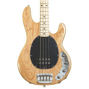 Ernie Ball Music Man StingRay H 3 EQ – Natural Gloss – Maple – Black