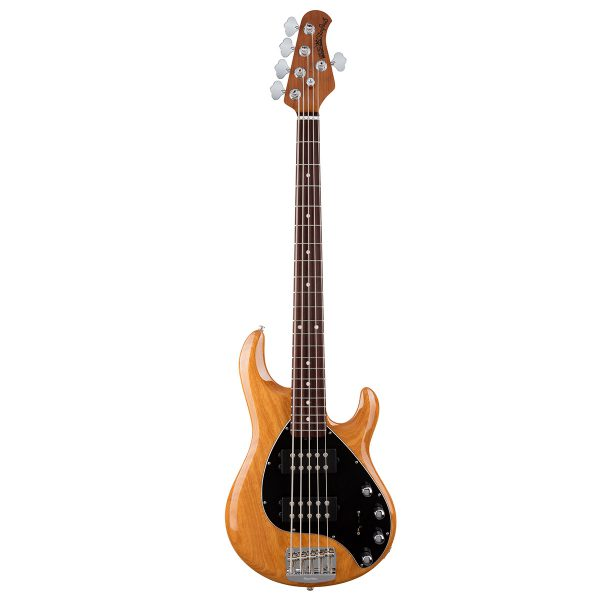 Ernie Ball Music Man StingRay5 HH Special - Classic Natural - Rosewood