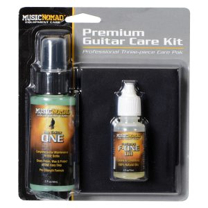 Music Nomad Premium Guitar Care Kit (3 Pack)