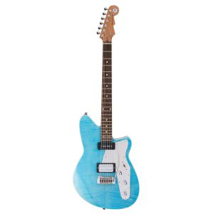 Reverend Double Agent 20th Anniversary Sky Blue Flame Maple