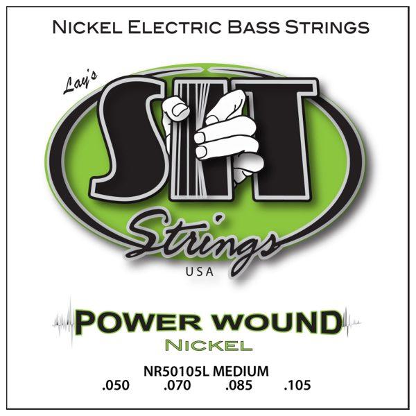 SIT Strings Bass Power Wound Nickel Medium 50-105