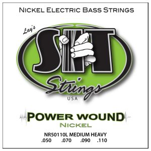 SIT Strings Bass Power Wound Nickel Medium Heavy 50-110