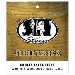 SIT Strings Golden Bronze 80/20 Extra Light 10-48
